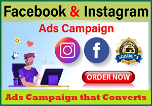 I will Create and manage Facebook And Instagram ads Campaign