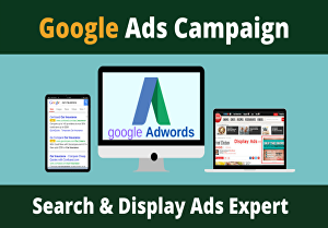 I will Setup Your Google ads Campaign