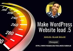I will optimize WordPress website speed professionally