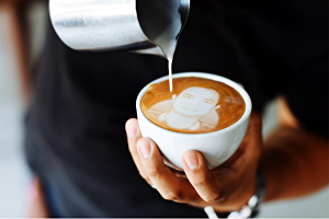 I will Transform your picture into gorgeous latte art
