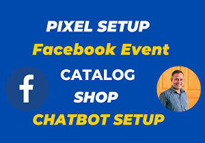 I will setup your Facebook pixel, event, custom audience, website integration, etc
