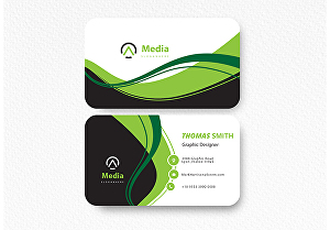 I will create a professional business card design