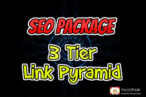 I will do 3 Tier Pyramid Seo Package