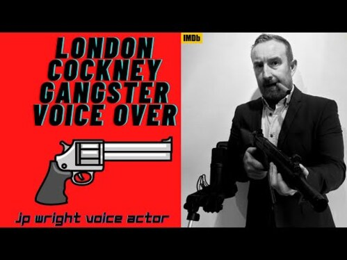 voice over 100 words in a London Cockney accent in 24 hours