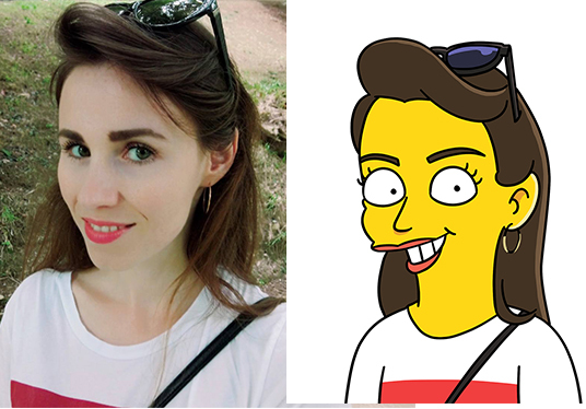 Draw you as a YELLOW CARTOON character