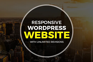 I will build a Responsive Modern WordPress Website Design, Landing Page Design
