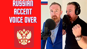 I will Voice Over 50 words in a Russian Accent in 24 hours
