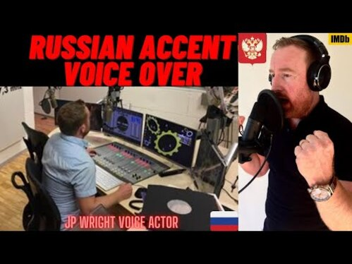 Voice Over 50 words in a Russian Accent in 24 hours