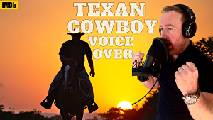 I will voice over 50 words in a Texan American accent in 24 hours