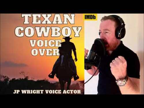 voice over 50 words in a Texan American accent in 24 hours