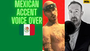 I will Voice Over 50 words in a Mexican accent in English in 24 hours