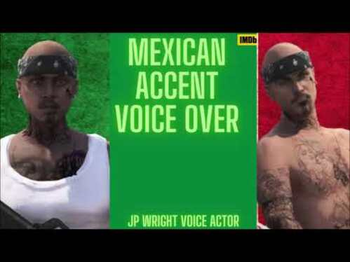 Voice Over 50 words in a Mexican accent in 24 hours