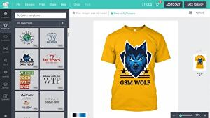 I will make a tshirt printing, designing ecommerce website with wordpress