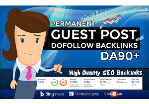 I will guest post on high DA site with dofollow backlinks