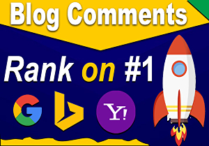 I will manually build 150 Blog comments boost your website ranking on 1st page