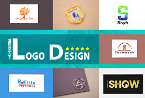 I will design Professional logo in ultra high quality