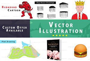 I will create vector graphic, Illustration and digital graphic