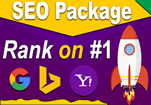 I will do ALL-IN-ONE SEO link building package for website ranking on Google, Bing, Yahoo