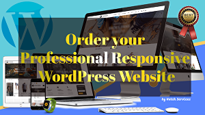 I will create your responsive WordPress website design
