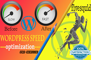 I will optimize your wordpress website speed drastically