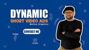 I will do Short video ads for facebook, instagram or product