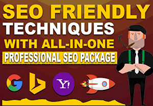 I will rank you with this White hat SEO Package