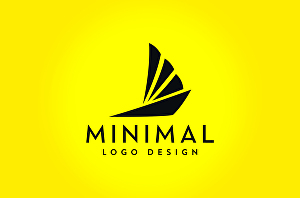I will design 3 modern minimalist logos and business card with unlimited revision