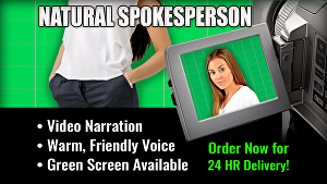 I will be your natural testimonial actress for your business, brand or product