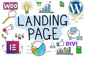 I will create a WordPress  landing page for service business