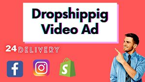 I will create facebook video ad for your dropshipping products