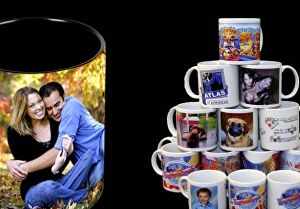 I will create an eye-catching custom coffee mug design