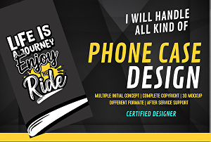 I will do Custom Phone Case design for you