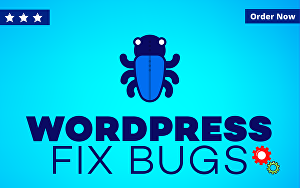 I will fix WordPress bugs, WordPress errors, or any WordPress issues