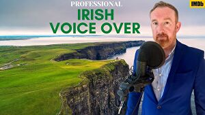 I will voice over 100 words in a professional Irish accent in 24 hours