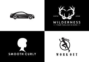 I will create awesome silhouette logo design  for your fashion, business, company or from anythin
