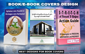 I will design professional ebook cover or book covers design