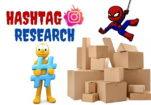 I will research targeted Instagram Hashtags to grow your page