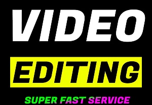 I will do Professional Video Editing and Audio Editing