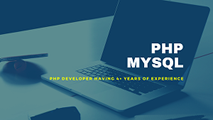 I will do web apps with PHP and MySQL professionally