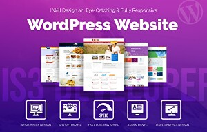 I will develop fully response WordPress website