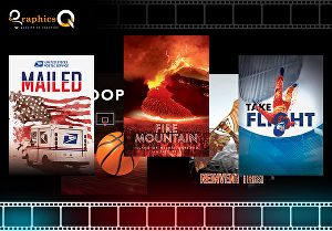 I will design professional movie, film or series poster