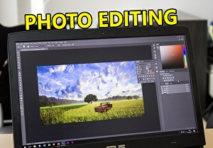 I will edit pictures or images and do photoshop editing