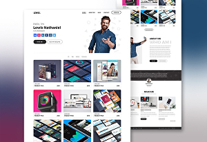 I will build a professional portfolio WordPress website, Personal Website using WordPress