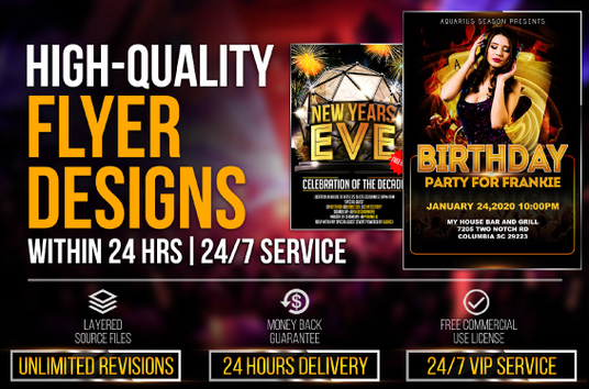 design eye catching flyer and brochure for your business