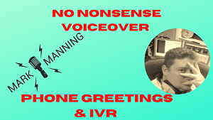 I will voice over your Answering Machine Voicemail & IVR messages