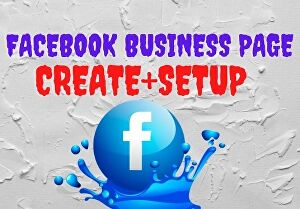 I will create your one Facebook business page or fan page