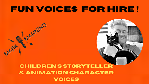 I will voice over Children's Stories and Animation characters check out the show reel