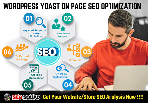 I will Do WordPress Yoast SEO On Page Optimization and Schema Markup for 1st Page Ranking - 5 Pag