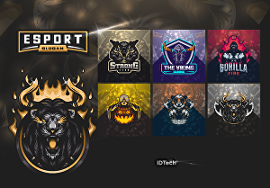 I will design an awesome esport logo, twitch, and game streaming