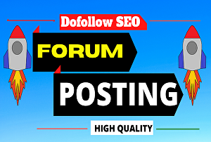 I will provide 20 forum posting backlinks